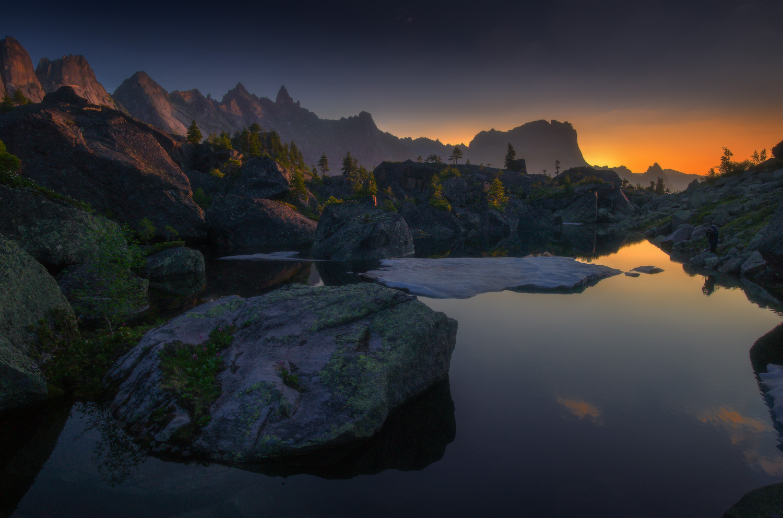 Lake Harmony, Ergaki Mountains, Russia