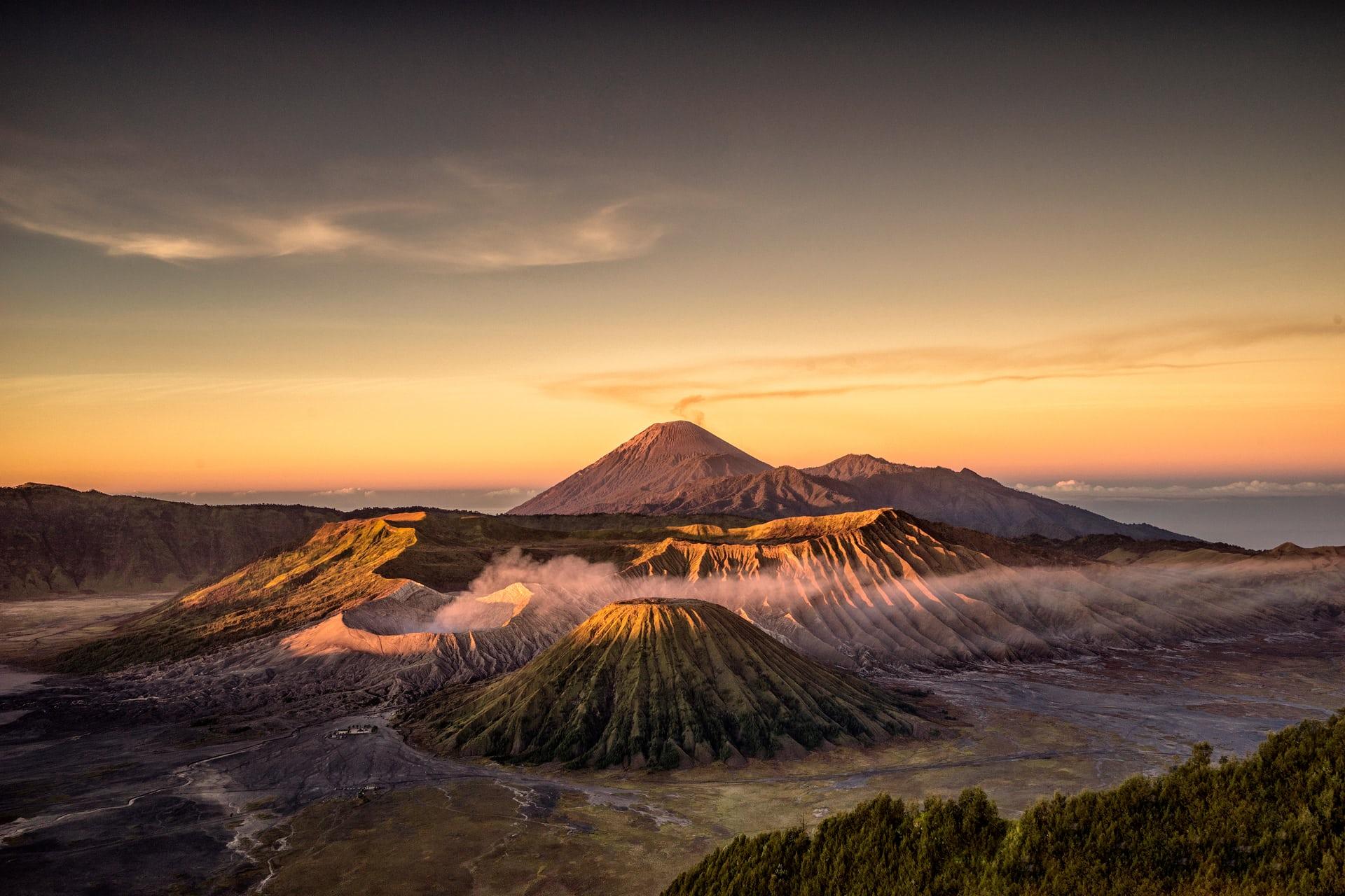 Tengger volcanic complex, Indonesia