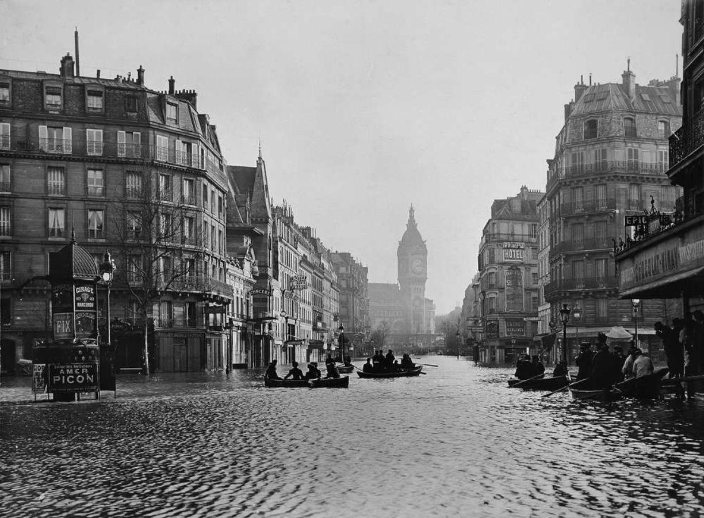 Paris flooding, 1910