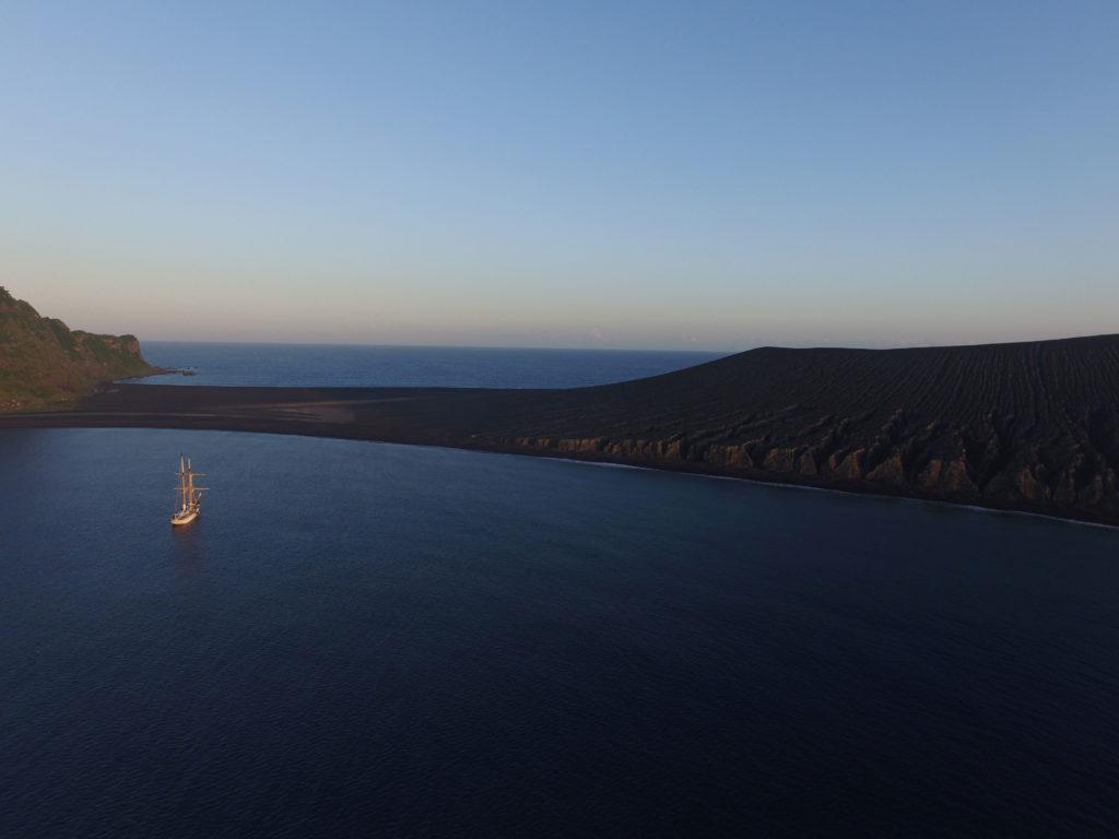 Hunga Tonga-Hunga Ha'apai sunset