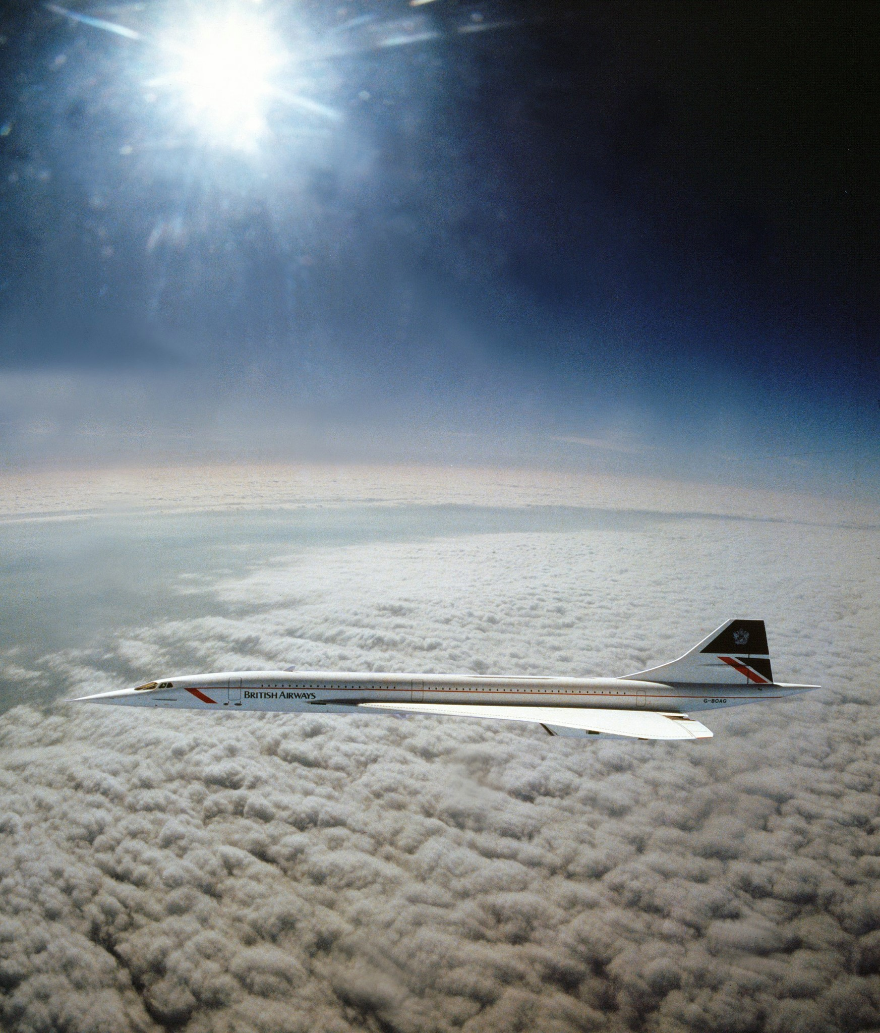 Concorde at Mach 2