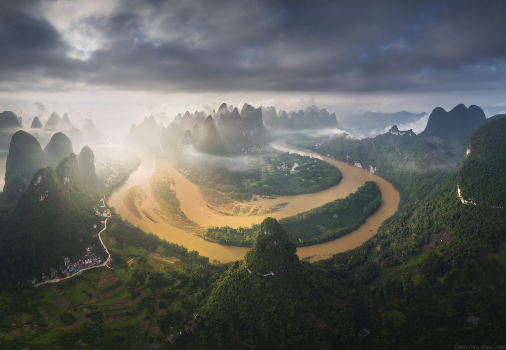 Guilin landscape, China