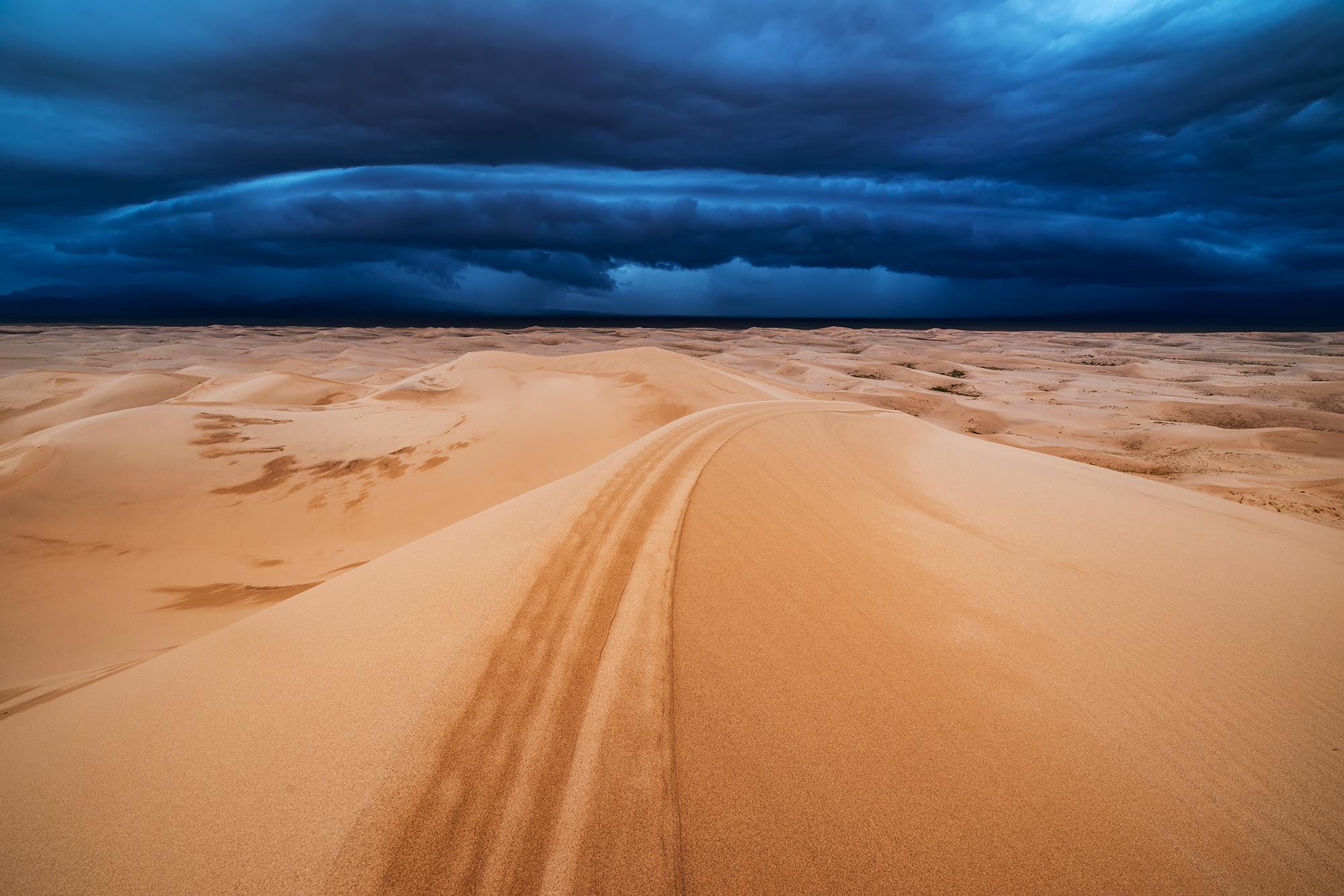 Desert storm, Mongolia