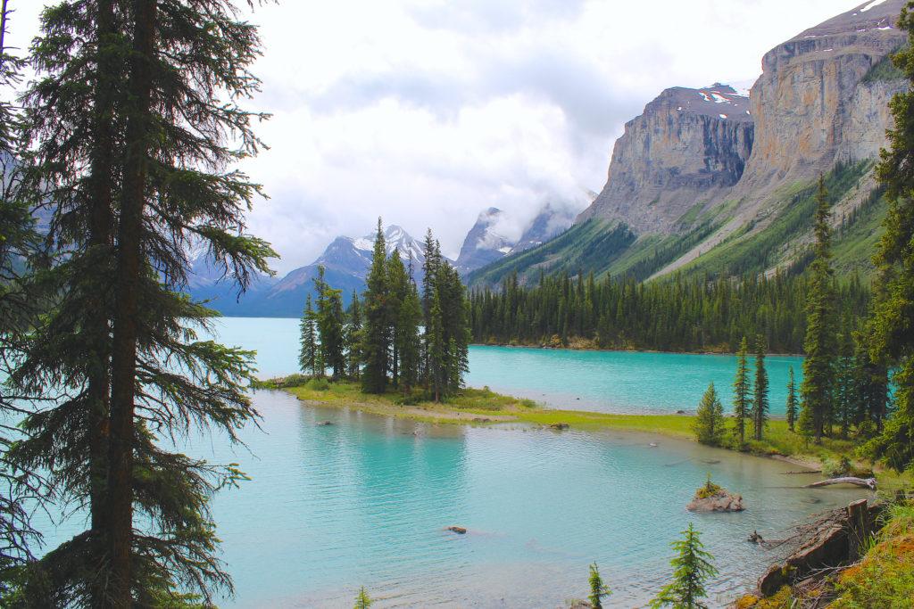 Spirit Island, Alberta, Canada