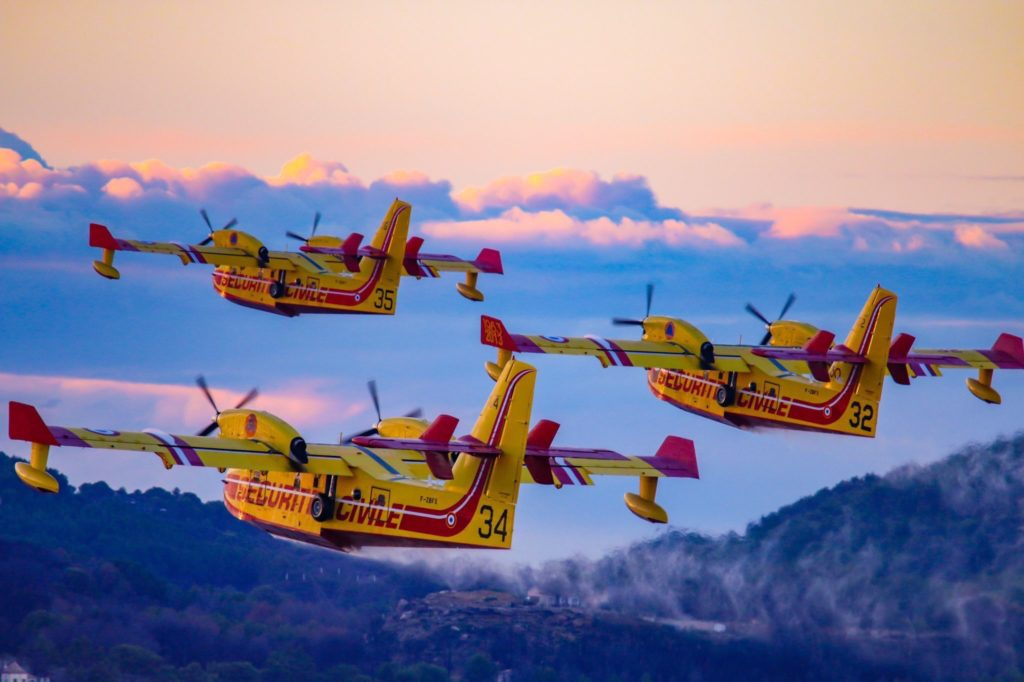 Canadairs, France