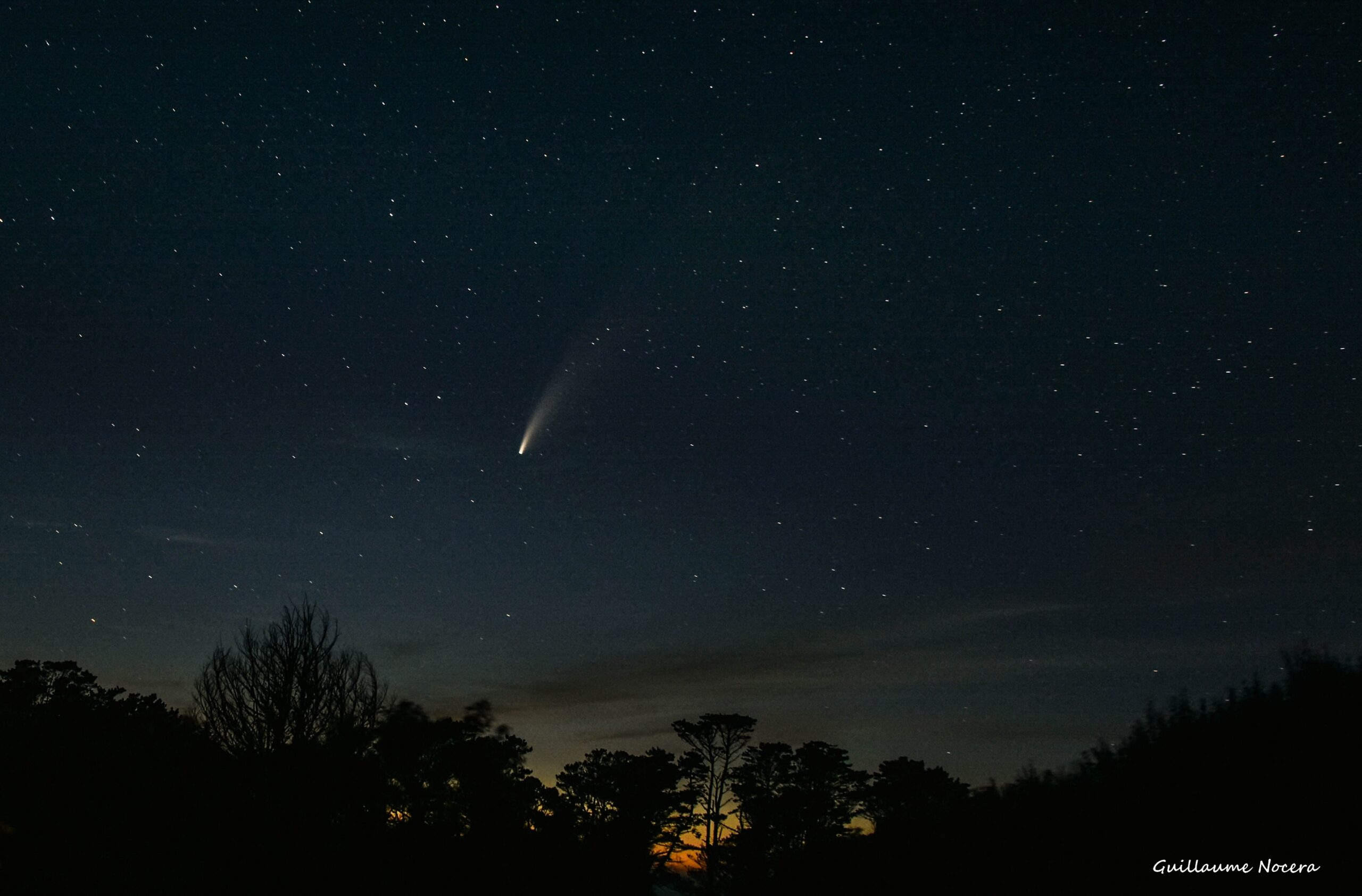 Comet Neowise, Brittany, France