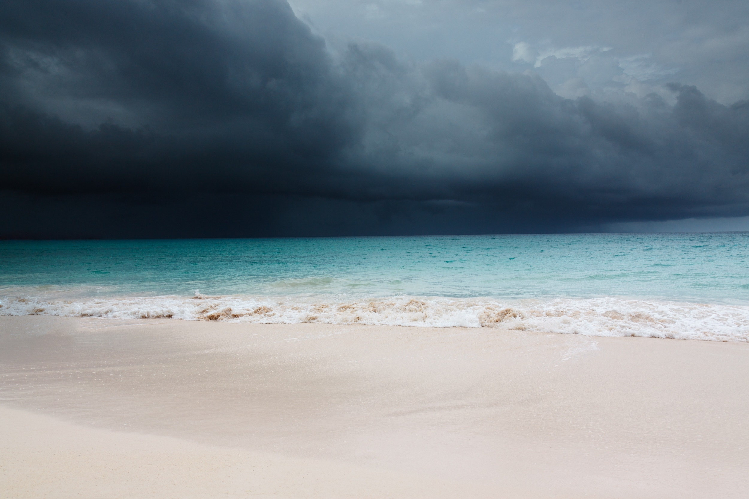 Storm in Caribbean